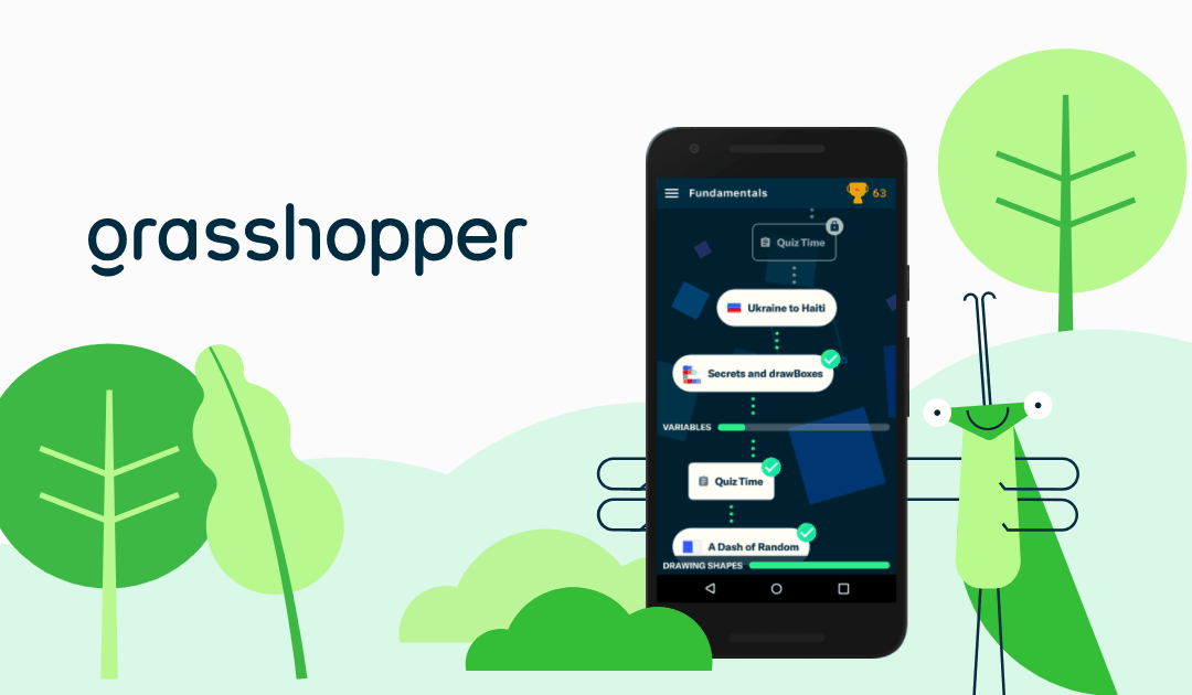 Welcome to Grasshopper, the coding app for beginners