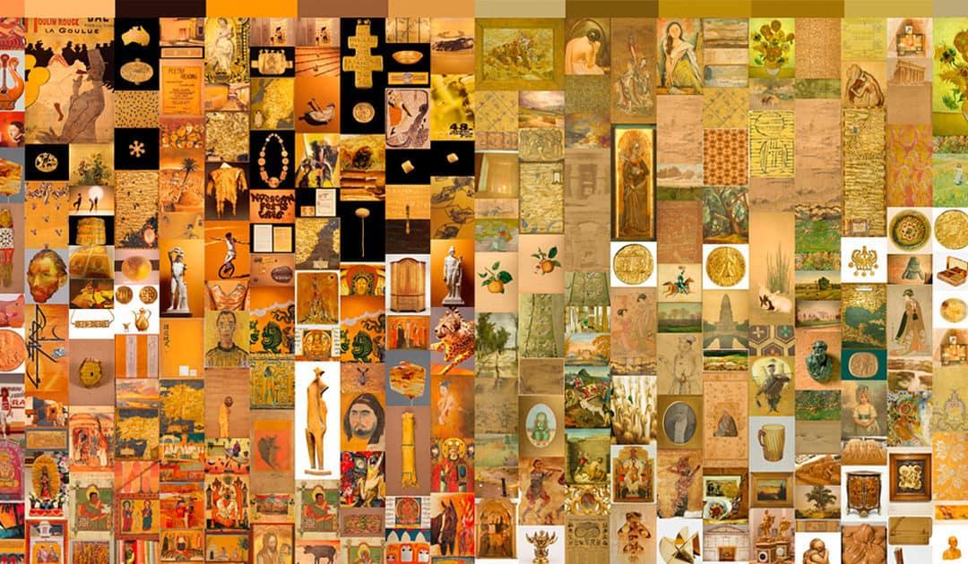 Google-Kunst 2: Farbliche Zusammenhänge zwischen Kunstwerken