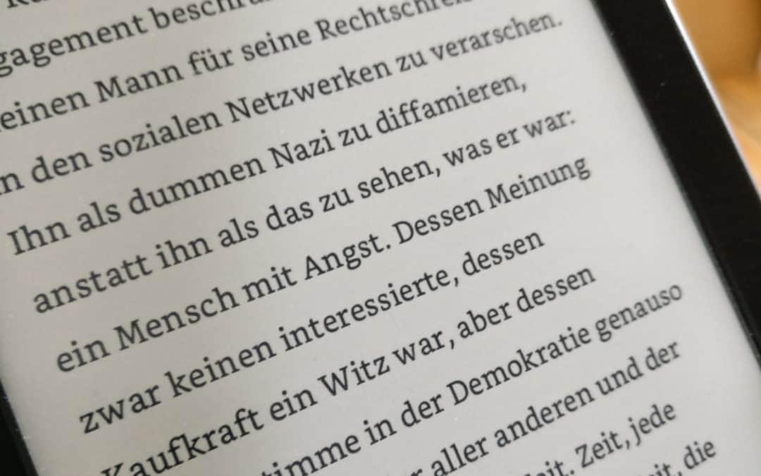 """Mein vierter Bericht zum Stand meines Romanprojekts """"2040"""""""