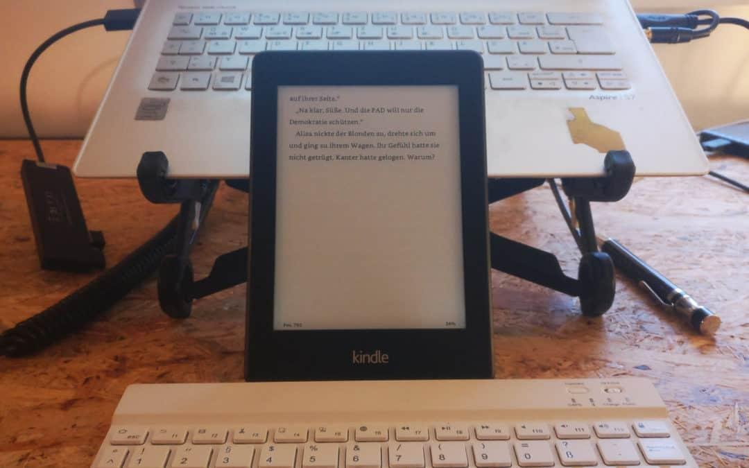 """Ich hab's verkackt (und gleichzeitig auch nicht). Mein elfter Bericht zum Stand meines Romanprojekts """"2040"""""""
